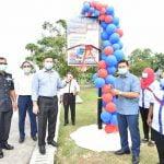 Program Sepetang Ketua Pengarah AADK Bersama Komuniti Maharani Di Dataran Tanjung Emas, Muar, Johor